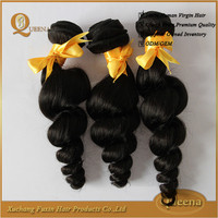 Free Samples 5a top grade human hair maintain style long time malaysian loose wave hair