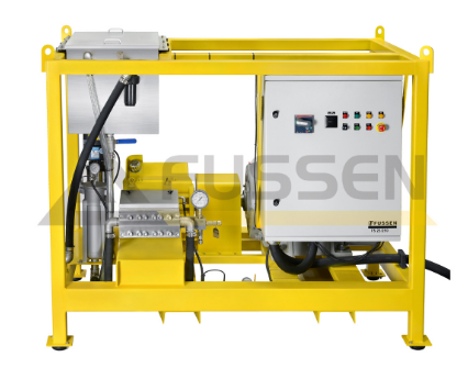 Oxygen plant gas drive high pressure water jet machine high pressure washer