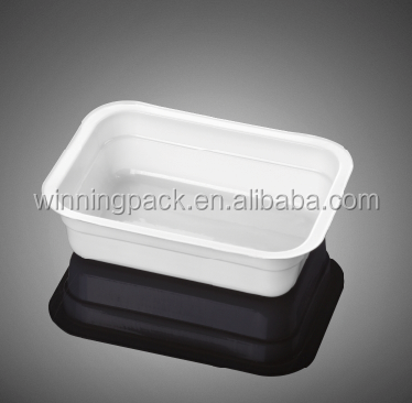PS food grade clear meet tray frozen food packaging