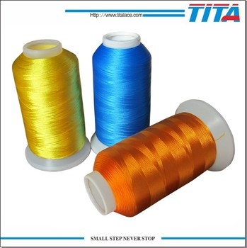 High quality cheap polyester embroidery thread 120d