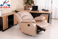 Luxury Recliner Leather Sofa, Single Seat, four colors available