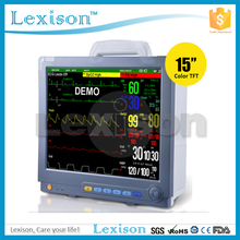 "Hospital medical equipment 15"" Multipara Patient Monitor with ETCO2"