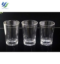 Drinkware For Restaurant Hotel Glassware Home Goods Thin Glass Tea Cup