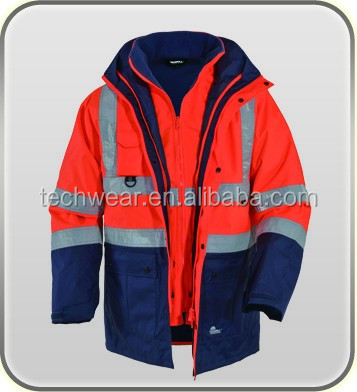 Waterproof Protective Safety Softshell Jacket