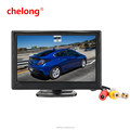 800*480 Car TFT Display 2ch Video 5 inch LCD Monitor Screen support rear view camera