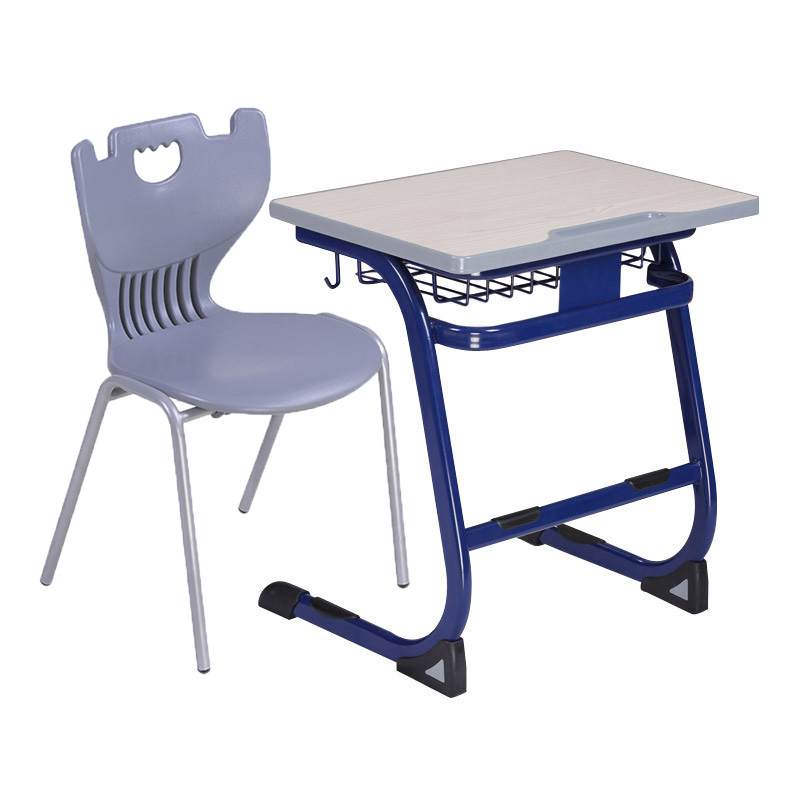 cheaper price high school desk with chair