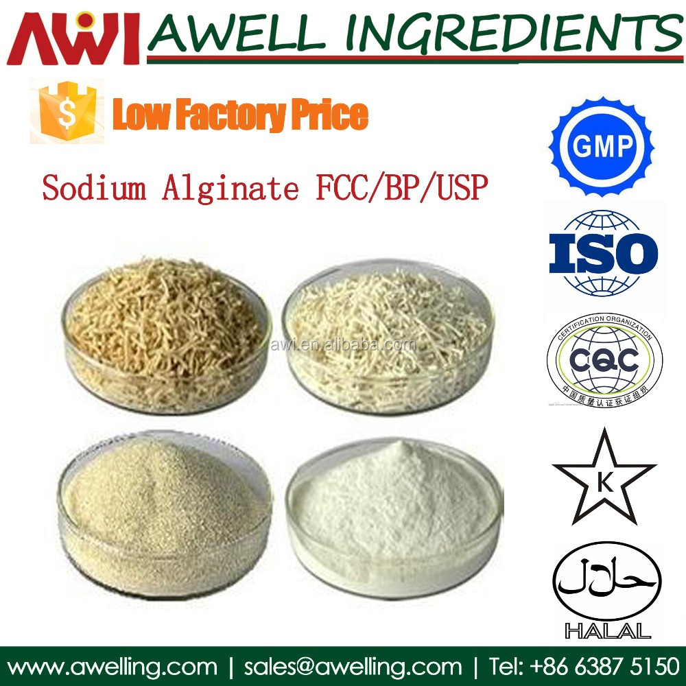 Food Grade Sodium Alginate price