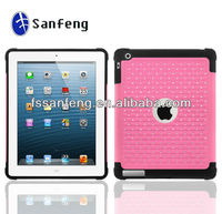Heavy Duty Triple Layer Defender Case for ipad 2 3 4,Bling Diamond Rhinestone Case for ipad 2 3 4 Combo Case