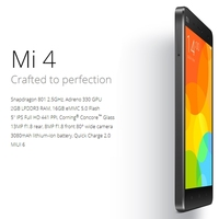 3G MIUI V5 Smart Mobile Phone mi4 64gb phone,Xiaomi Mi 4 5.0 inch cheapest Android phone