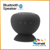 Promotion! Suction-up Design New in 2014 Used for shower waterproof Bluetooth Speaker