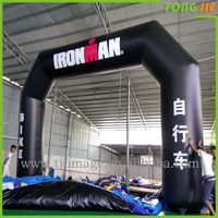 Sports racing Inflatable arch inflatable finish line inflatable jumping castle