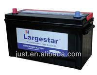 Largestar MFN100 JIS 12v100Ah Pick-up/Truck starting battery Producer