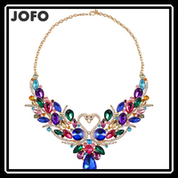 Fashion Summer Luxury Swan Beautiful OL Delicate Noble Pendant Necklace Women Collier Choker Collar Jewelry