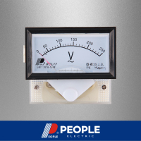 PEOPLE 85L17-V 250V 64mm*56mm Analog panel meter AC voltage meter, volt meter