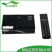 Satellite receiver tv Magic box MG 4 HD box DVB-S/T/C 800MHz MIPS Processor Linux OS popular in Italy linux smart tv box