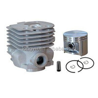 High quality gasoline engine cylinder kit,ignition coil,carburetor for HUS362 (round) chainsaw