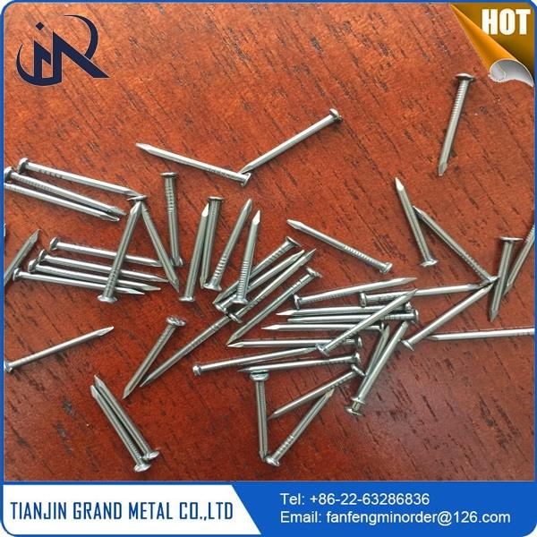 Multifunctional polished nail galvanized concrete steel nails for wholesales