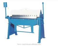 High quality hand folding machine for the production of facade cassettes