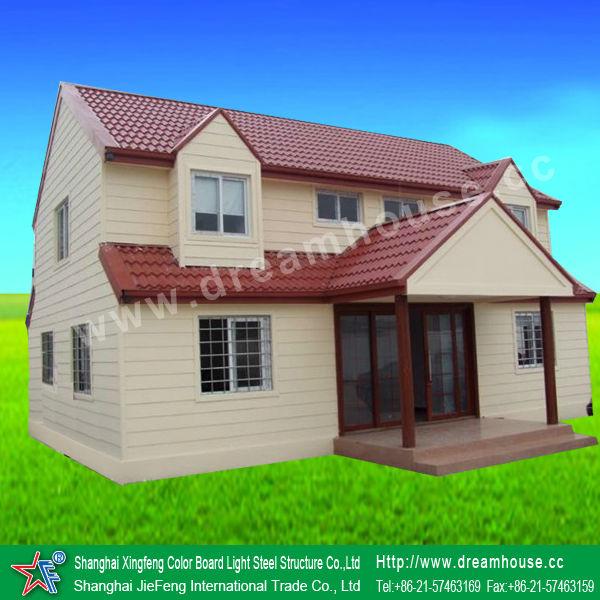 Las casas prefabricadas economicas con dos plantas pisos - Casa prefabricadas espana ...