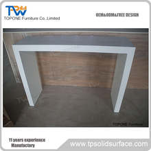 White Color Solid Surface Nightclub Bar Counter Bar Table