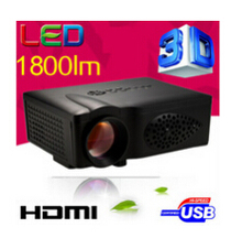 ATCO CT37 1800Lumens HD HDMI Digital Multimedia 3D LED USB Mini game Projector Projetor beamer for home theater