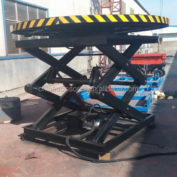 Hot Sale Rotating Scissor Stage Lift/Mobile Hydraulic Stage