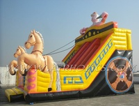 Outdoor commercial grade adult giant inflatable slide made in China inflatable factory price
