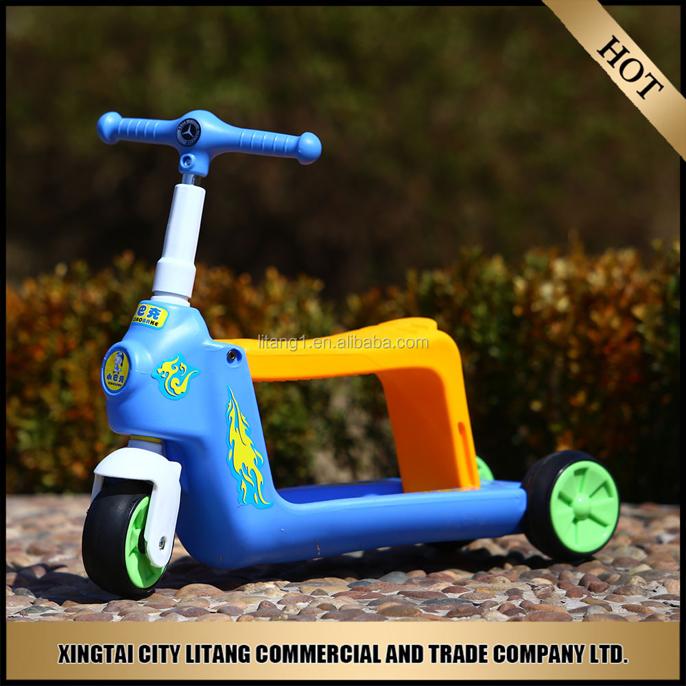 New Arrive Children 3 wheel Swing bike scooter kids tricycle bicycle ride toy for baby