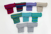 hot sale comfortable cotton skin friendly colorful stripe busha baby pants