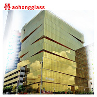Frameless Double Glass Curtain Walls Glass