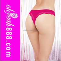 Good selling open-crotch ladies' sexy fancy panty thong