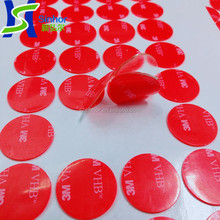 Custom Die Cut Various Size and Adhesive Round Double Sided Stickers/Dots/Circles