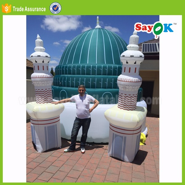 portable inflatable outdoor for mosque dome tent products guangzhou