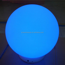 flattened ellipsoid LED lights /color changeable ball