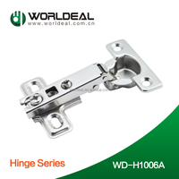 Factory price with good quality 26mm cup Slide-on one way furniture door hinge