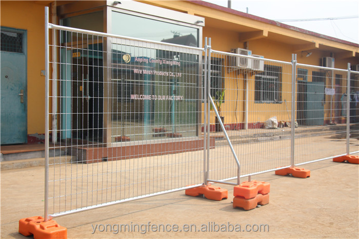 best selling hot galvanized commercial construction sites temporary fence