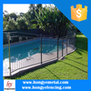 Modern Galvanized Aluminum Pool Fence