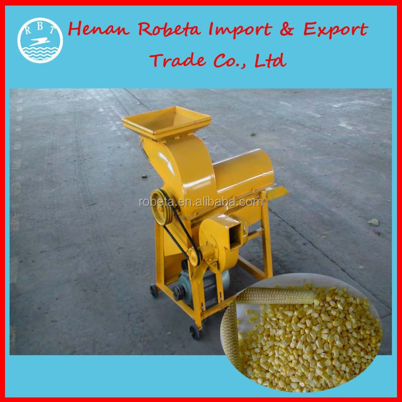 Hot selling Cast Iron Electric Corn sheller/grain thresher/maize thresher