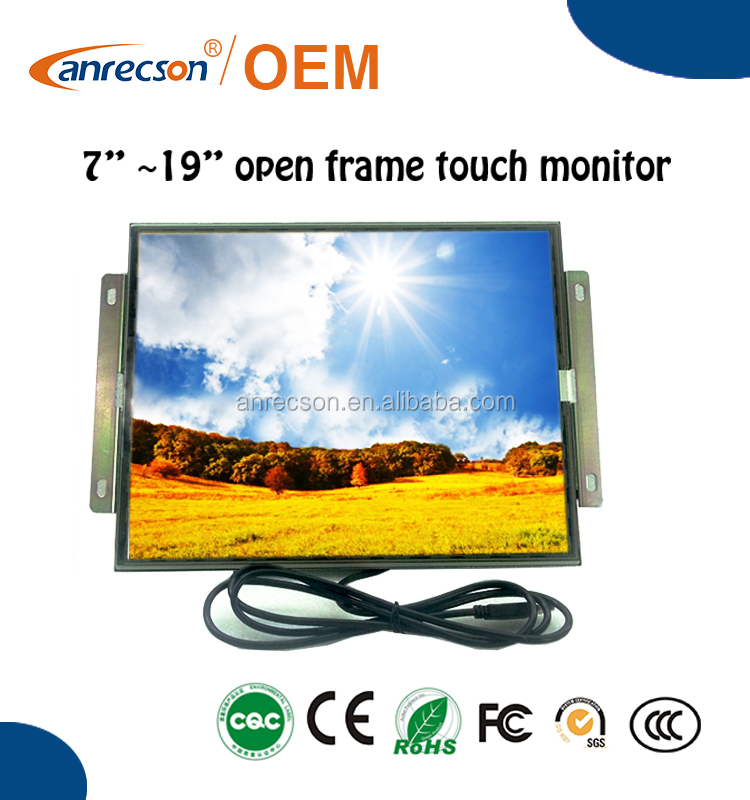 HDMI monitor 15 inch with touch