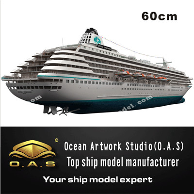 ship model _ Luxury Cruise model 18_O.A.S ship model factory
