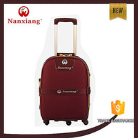hot new products for 2015 polo wheeled trolley nylon luggage