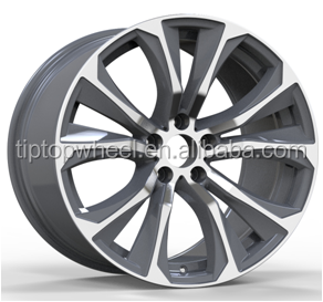 19x9 inch alloy wheel for porsche replica rueda with pcd 5x120mm