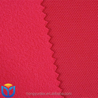 100% polyester warp knitted mesh super poly tricot sportswear fabric
