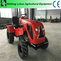 18hp garden mini tractor with all implements