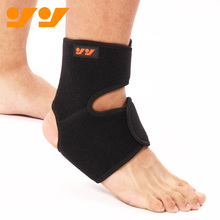 Customized logo adujstable plastic neoprene ankle protector brace for men