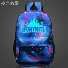 Fortress Night Luminous Bag Men and women Backpack Campus Backpack Fashion Trend