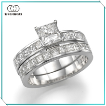 Hot Sale Vogue 925 silver rhodium plated jewelry