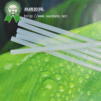 wholesale non-toxic semi- transparent hot melt glue stick SH-E02