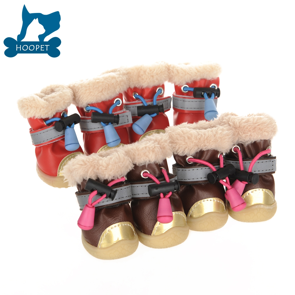 Snow boots for dog shoes pet accessories For winter
