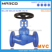 Professional supply iron or steel material bolted bonnet bb os&y end connection flange globe valve